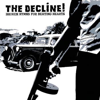 Pochette du second album de the Decline réalisée par Poch