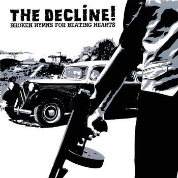 Pochette du second album de the Decline réalisée par Poch