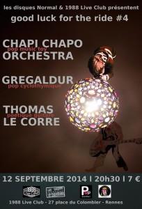 Chapi chapo Orchestra - Gregaldur - Thomas Le Corre @ 1988 Live Club | Rennes | Bretagne | France