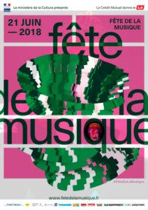 affiche fête de la musique rennes musique